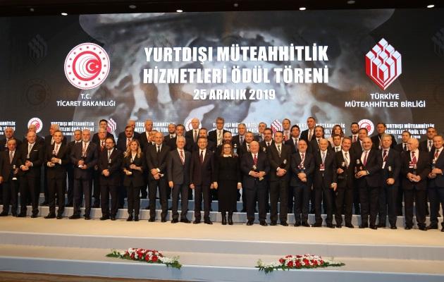 Türkiye, yurtdışı müteahhitlikte 44 firma ile bir kez daha dünya ikincisi oldu