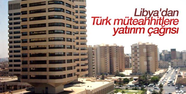 Türk müteahhitlerin Libya'dan alacaklarını tahsil için 1 yıllık yol haritası