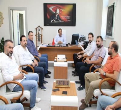 MİM-DER Yönetim Kurulu  Battalgazi ve Yeşilyurt  Belediyesini  ziyaret etti.